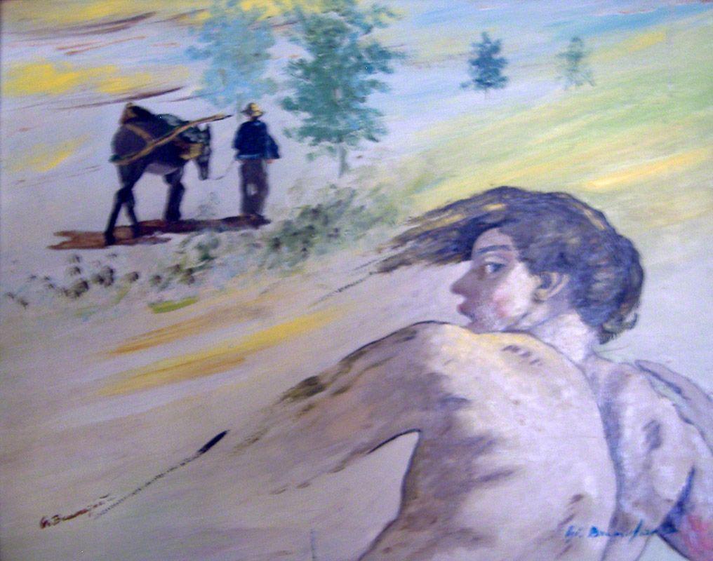 """Dipinto di Branciforte nella collezione """"Esordi anni '70"""""""
