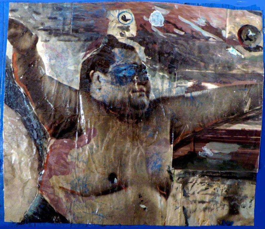"""Dipinto di Branciforte della collezione """"Papier collè"""""""