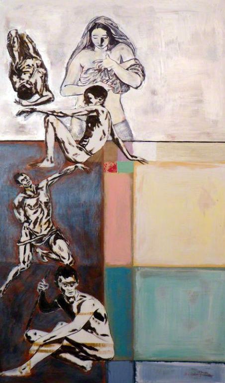"""Dipinto di Branciforte della collezione """"Figure"""""""