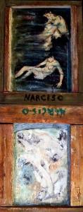 """Dipinto di Branciforte della collezione """"Legni"""""""