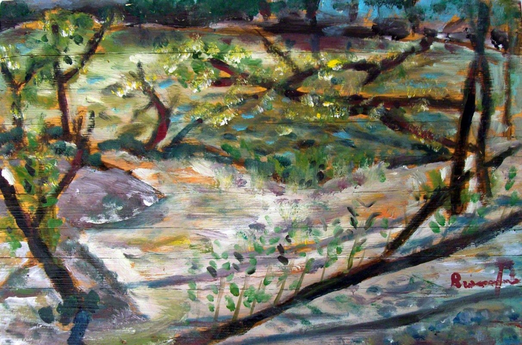 """Dipinto di Branciforte della collezione """"Paesaggi"""""""