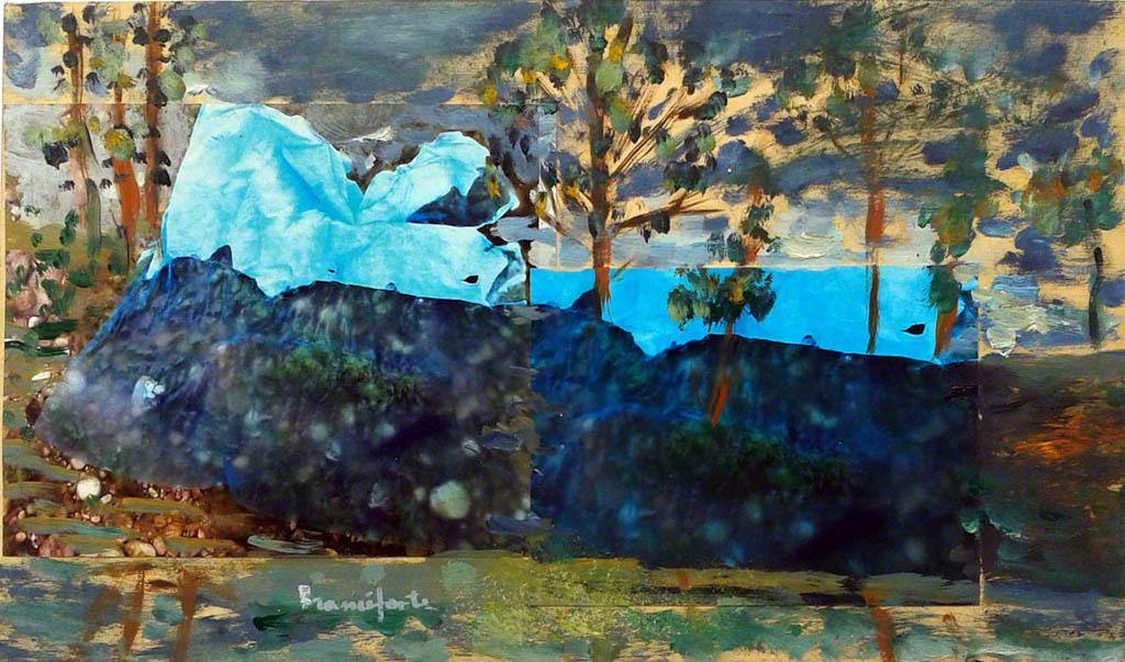 Dipinto di Branciforte della collezione Non-luoghi