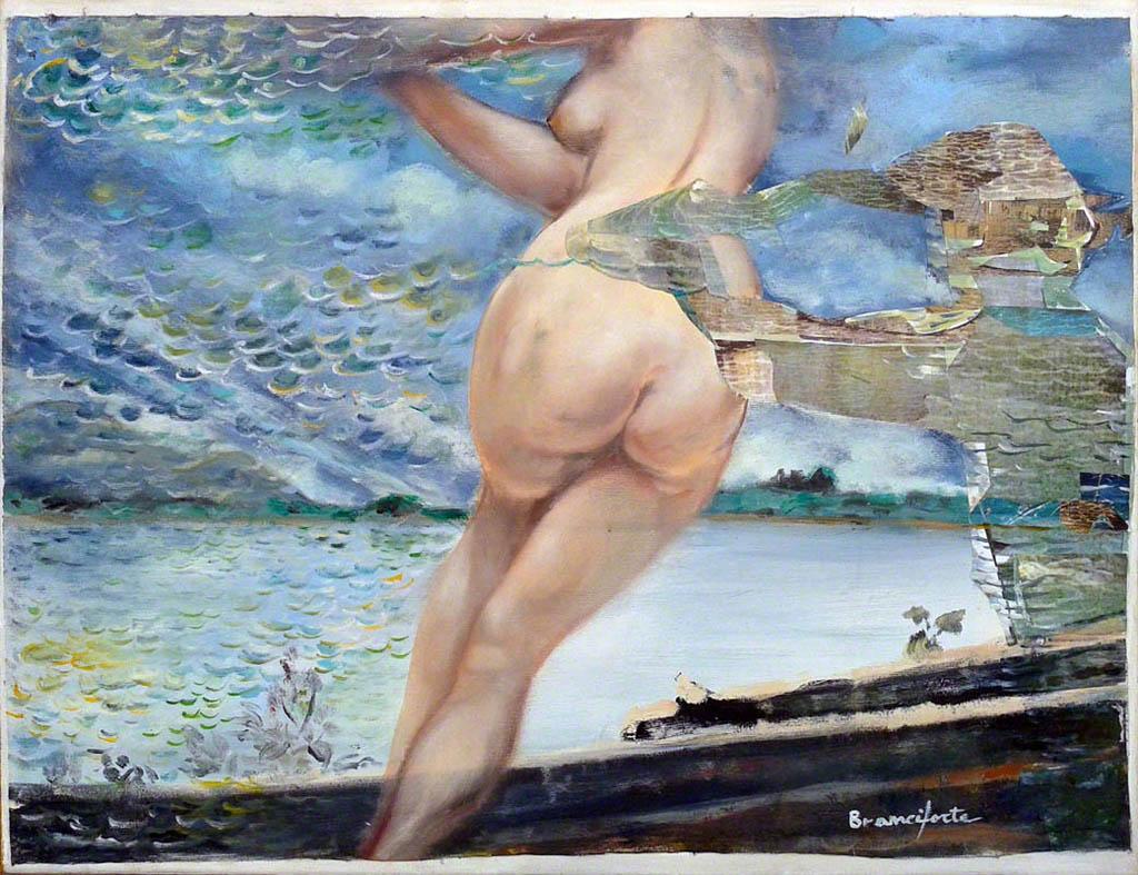 Dipinto di Branciforte della collezione Papier collè