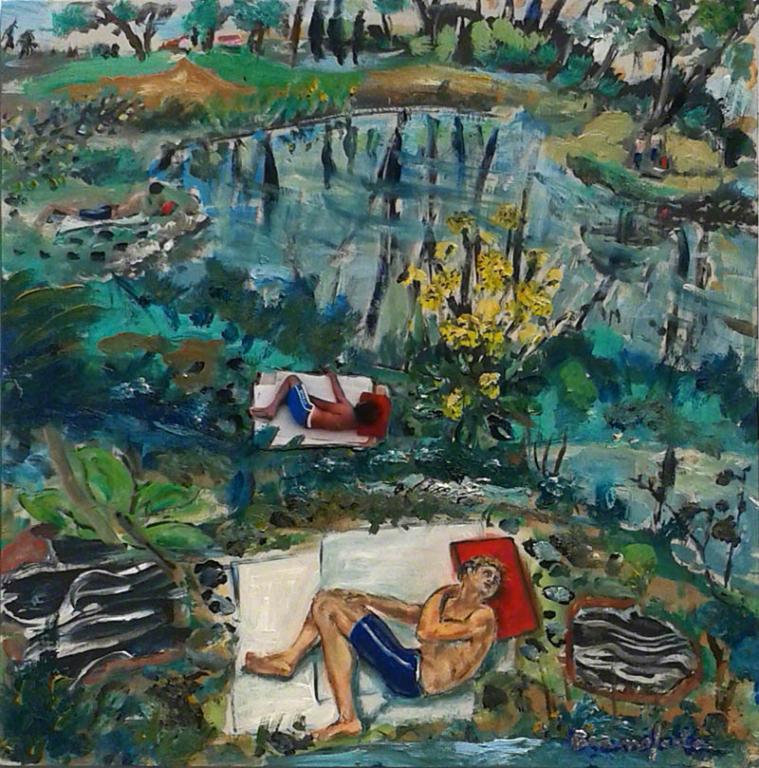 Dipinto di Branciforte della collezione Paesaggi