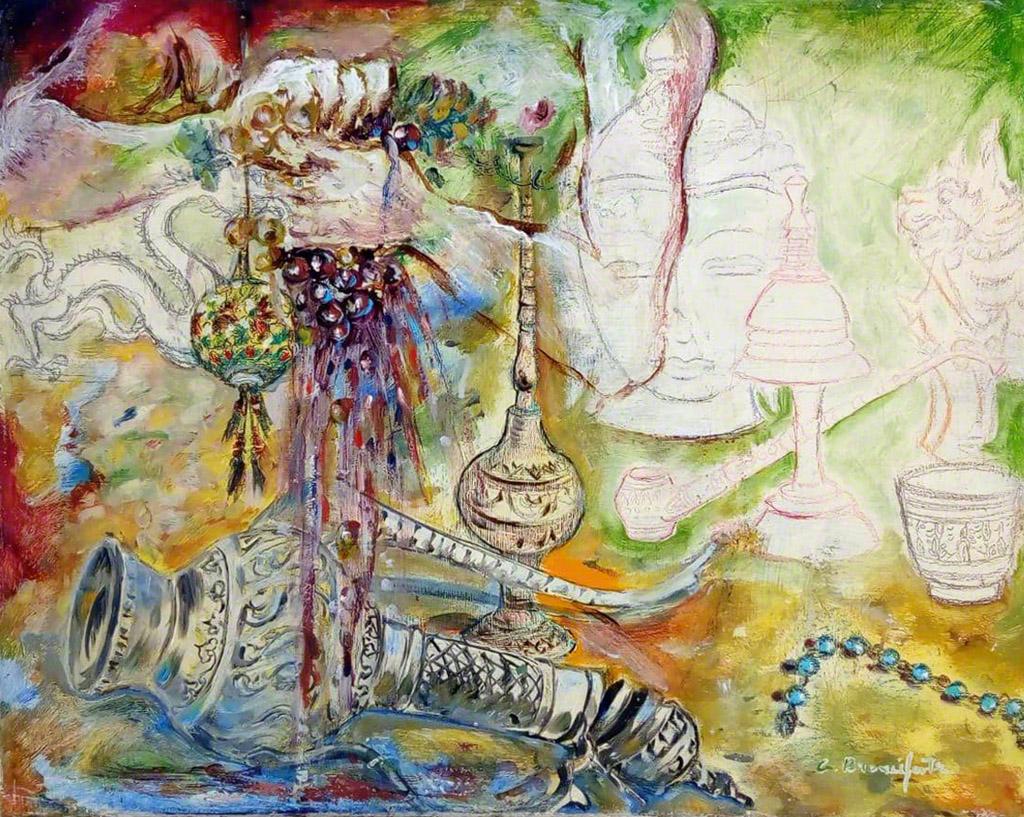 Branciforte, Ciò che è, 2018, olio su tela, cm 40 x 50